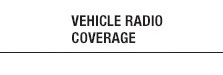 Vehicle Radio Coverage